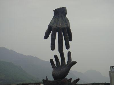 汉旺地震数字纪念馆雕塑设计制作