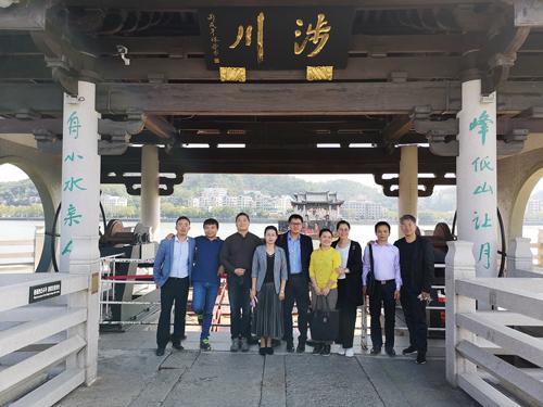 东方意象文创机构领导专家应邀赴潮州调研文化产业